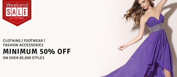 Women Clothing - 50 - 80% discount