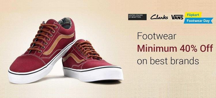 Men's Footwear - Minimum 40% off