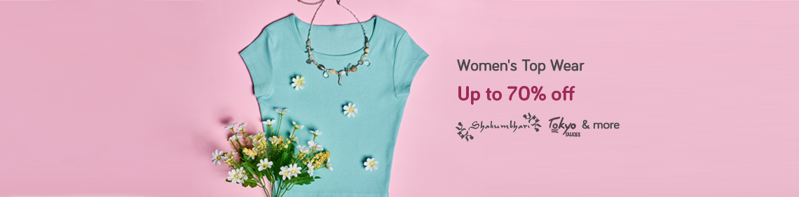 Women's Top Wear - Up to 70% off